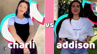 Charli D'amelio Vs  Addison Rae TikTok Dances Compilation 🌸August 2020🌸