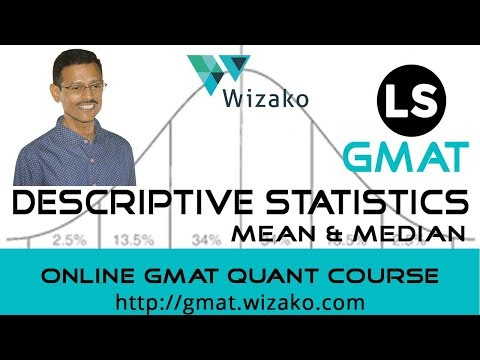 GMAT Mean, Median 700 800 level problem solving practice question