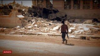 euronews reporter - 24 Stunden in Aleppo: EuroNews-Reporter Farouk Atig in der umkämpften Stadt
