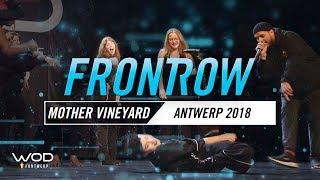 Mother Vineyard | FrontRow | World of Dance Antwerp Qualifier 2018