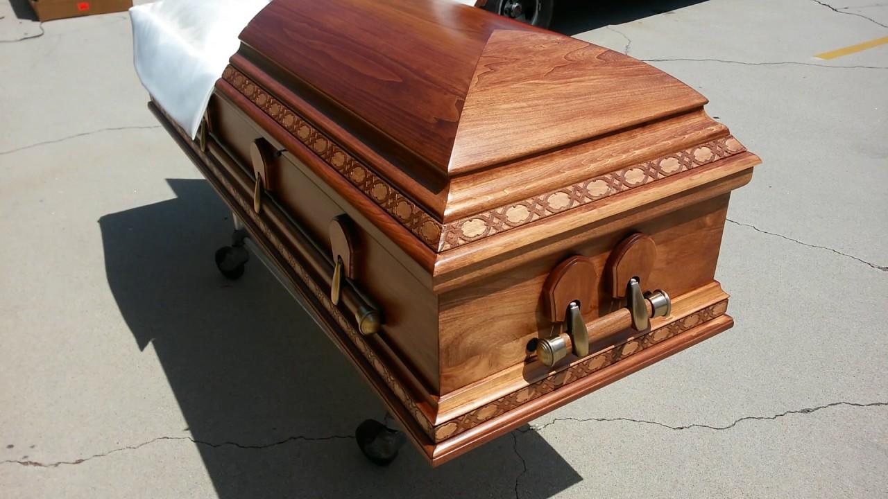 Florence - Solid Wood Casket- ExpressCasket com - Caskets for Sale