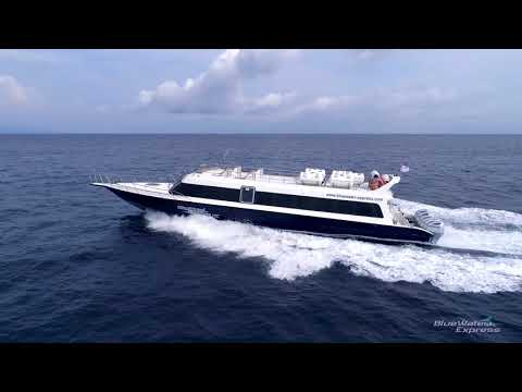Bluewater Express Fast Boat - Bali - Gili Islands - Nusa Lembongan Official