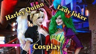 Mad Love (Harley Quinn and Lady Joker Cosplay)