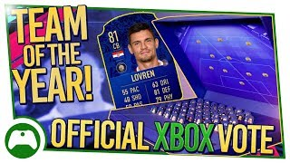Xbox Official Vote for FIFA 19 Team of The Year (TOTY) | FIFA 19 ULTIMATE TEAM