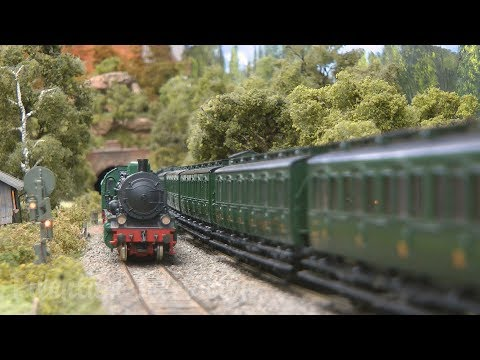 Superb Model Railway made by French Railroad Enthusiasts