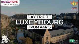 Luxembourg City Day Trip Vlog | Shot on GoPro