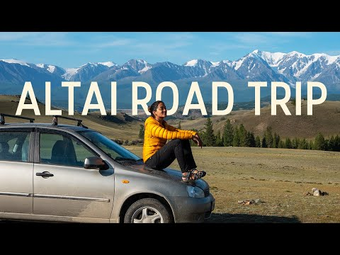 Welcome to SIBERIA | Solo female road trip through Altai, Russia