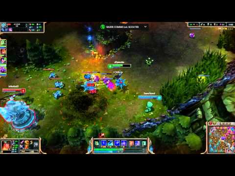 League of Legends 2014 - Sivir Tempesta di Neve (Gameplay)