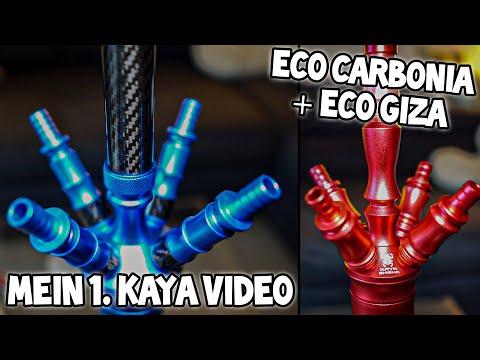 KAYA SHISHA REVIEW! 👙 Kaya Eco Carbonia & Kaya Eco Giza 💍