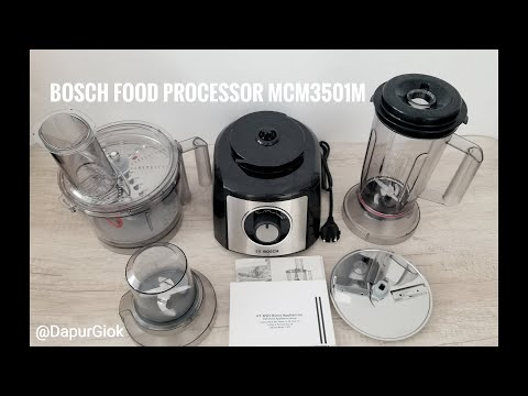 UNBOXING - Food Processor BOSCH MCM3501M MultiTalent 3