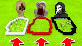 Minecraft PE : DO NOT CHOOSE THE WRONG FARM! (SCP-173, SCP-096 & SCP-049 )