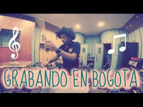 GRABANDO TIMBAL EN BOGOTA -TIMBAL RECORDING IN BOGOTA - JuanmaDrums!