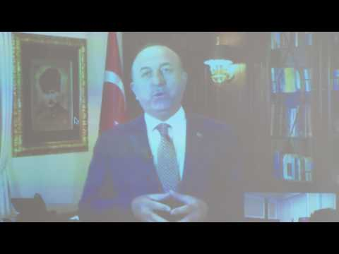 Remarks by Turkish Foreign Minister Mevlut Cavusoglu