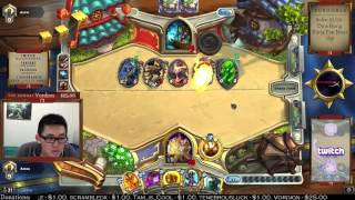 One of Amaz Hearthstone's most viewed videos: The BEST 347 seconds of my LIFE!