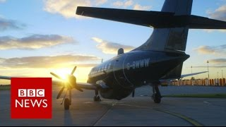 Plane that can be flown remotely   BBC News