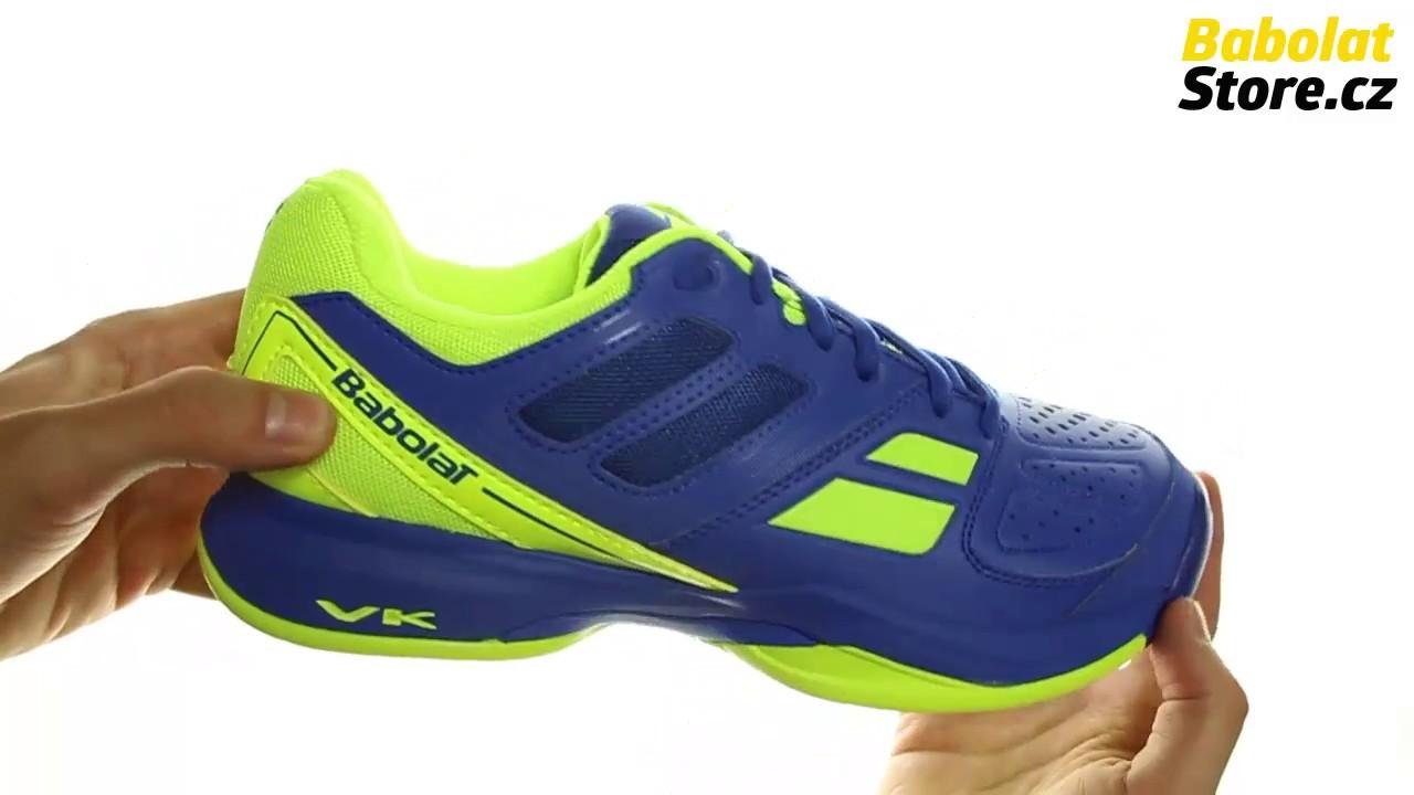 Babolat Pulsion All Court Men Blue Yellow - YouTube fb00944f11