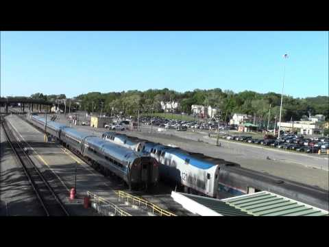 Amtrak Albany Rensselaer Station Ethan Allen Lake Shore Ltd