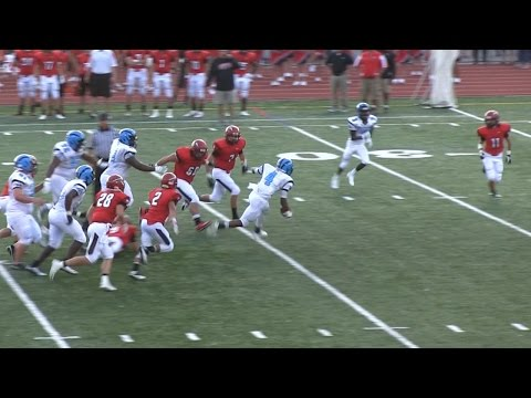 Highlights: Woodland Hills vs Peters Township - August 29, 2014