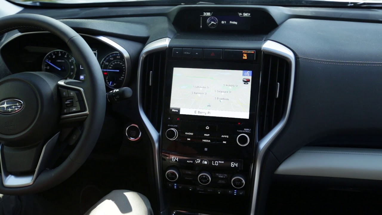 How To Use The Gen Iii Starlink Infotainment In A 2019 Subaru