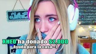 Donando Dinero a Youtubers y Streamers Que Lo Necesitan *INCREIBLES REACCIONES*