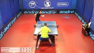 Настольный теннис матч 170519 12  Воронов Антон  Иванов Никита    за 3-4 место