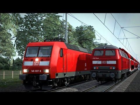Train Simulator 2017 #1 van Hamburg naar Ahrensburg