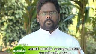 Cultivation of vegetable crops by parish priest  at kanchiyar, Idukki