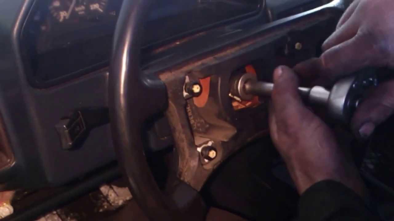 Замена спидометра на Audi 100