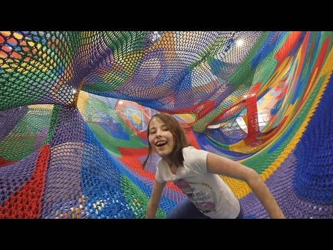 """Yeti Net"". Knitted Textile Pavilion. ""Real Russia"" ep.143"