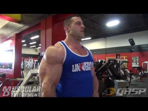 Evan Centopani | Arnold Classic 2014 Prep | Shoulders & Arm Training