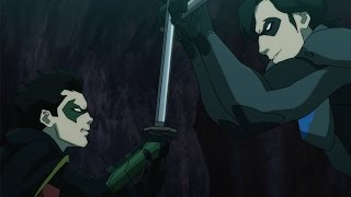 Найтвинг (Дик Грейсон) против Робина (Дэмиена Уэйна)
