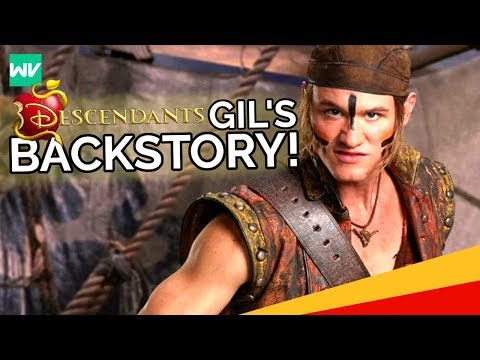 Gils Backstory  Why Gastons Son Became A Pirate: Dising Descendants