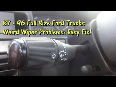Easy Fix! Ford Truck Wiper Issues Solved by @GettinJunkDone