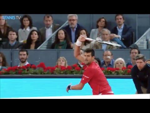 Nishikori Djokovic Semi Final Preview Madrid 2016