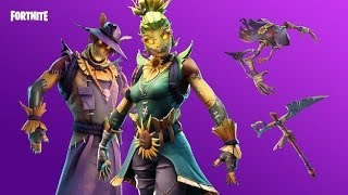 FORTNITE LIVE | ROCKING THE NEW SCARECROW SKINS IN SOLO & RANDOM SQUADS | 1,100+ WINS | 30K+ KILLS
