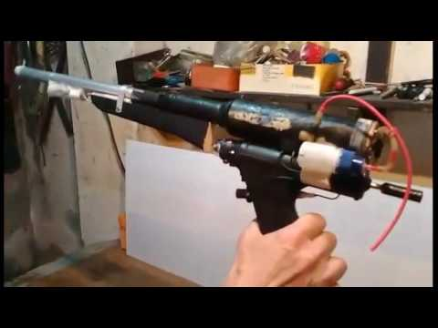 Combustion gun -  dual Camera System