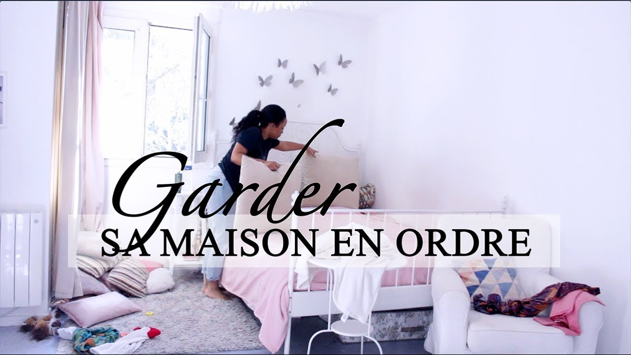 7 astuces pour ranger sa maison cerisedaily youtube. Black Bedroom Furniture Sets. Home Design Ideas