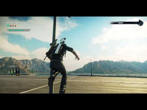 Just Cause 4 Reloaded - Driving Flying Cars  