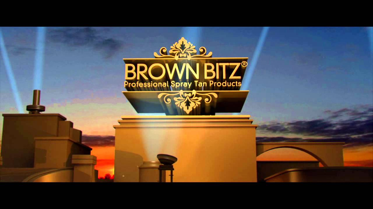 brown bitz hd logo animation - youtube