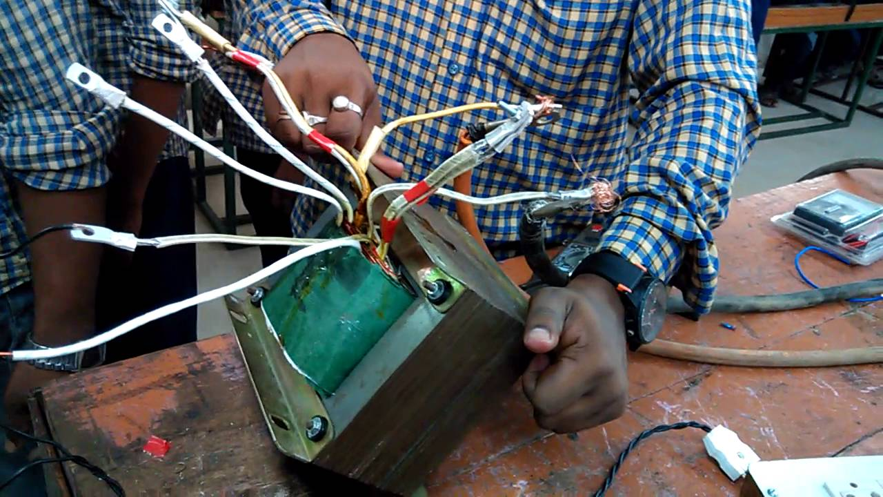 Miti Trainees Make Transformer Winding For Welding Machine