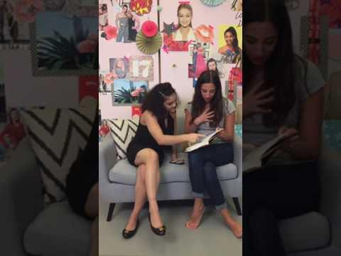 Laurie Hernandez - Facebook Live Seventeen (01/24/17)