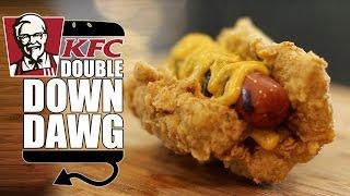 Kfc Double Down Dog Recipe    Hellthyjunkfood