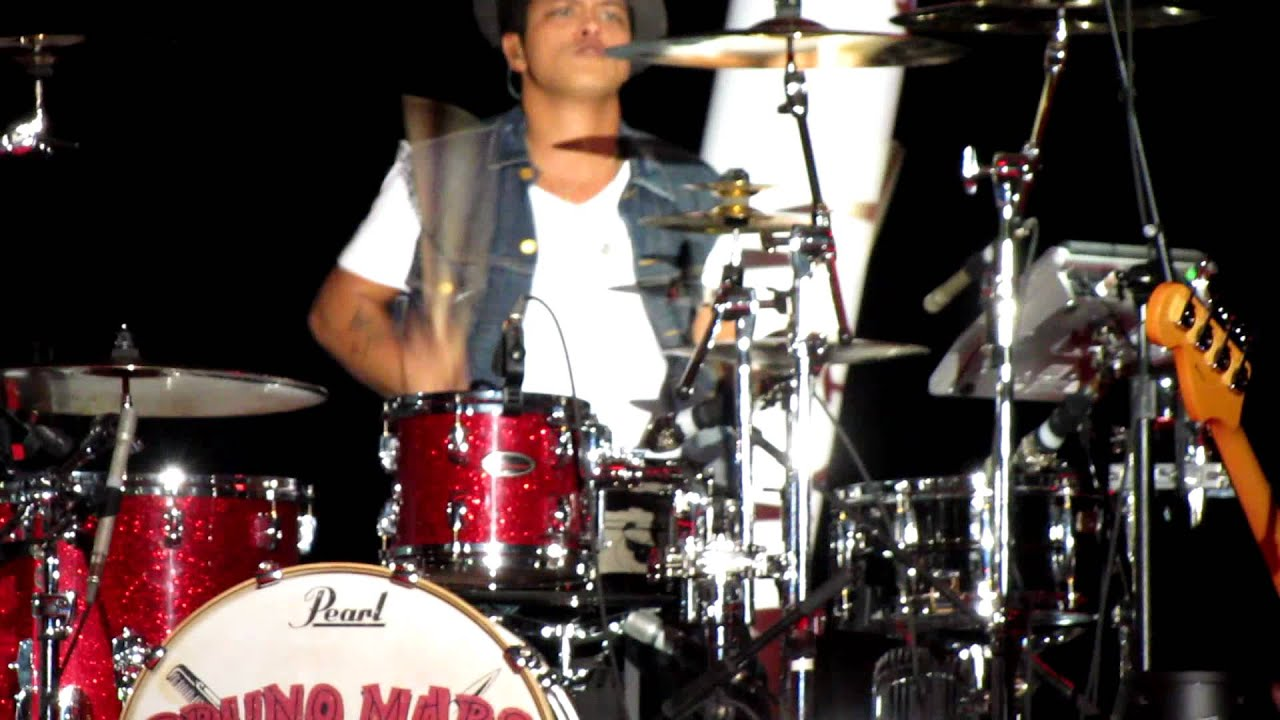 bruno mars playing the drums youtube. Black Bedroom Furniture Sets. Home Design Ideas
