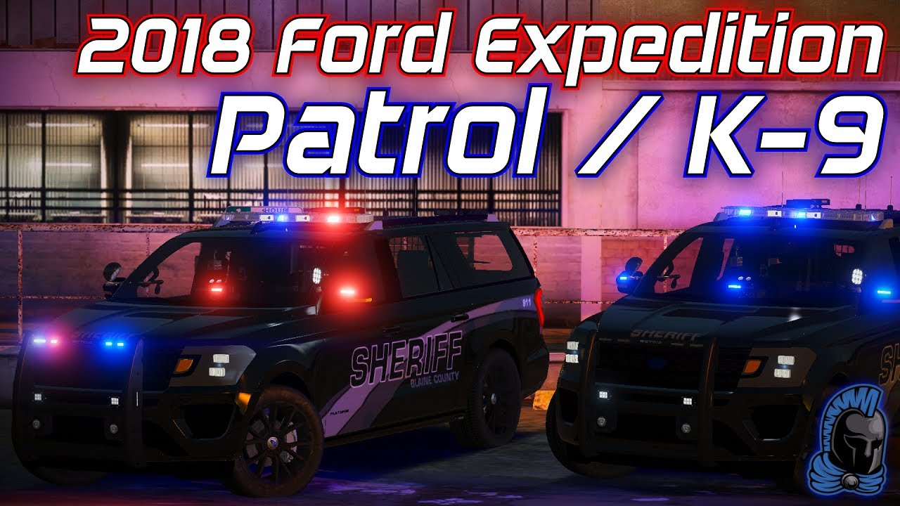 2018 Ford Expedition Patrol/K-9 | Showcase | Model Made By: Ferious Development
