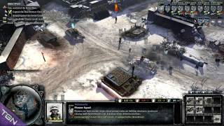 Company of Heroes 2 Blood in the Snow Rescued the wounded Commander on Occupation