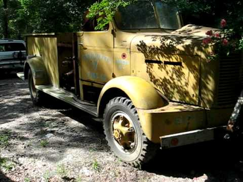 1951 FWD Fire Truck in Conroe, Texas