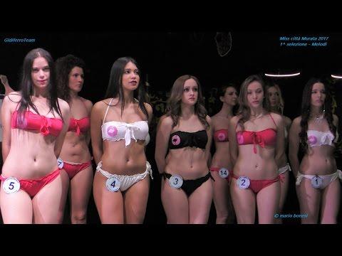 Miss Città Murata 2017 Sfilata in Abito e Bikini 1^ selezione - Melodi