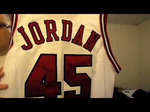 2797f0dbac02 Michael Jordan Jersey Collection – Chicago Bulls Edition – YouTube ...