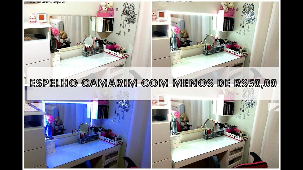 Mesma Espelho Camarim/Iluminação com Menos de R$50 00   #1E41AD 3000 1981