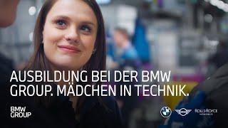 Ausbildung bei der BMW Group | Mädchen in Technik I BMW Group Careers.